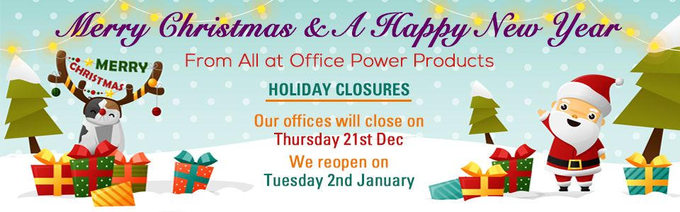 Merry Xmas from all at OPP - Holiday Closure info